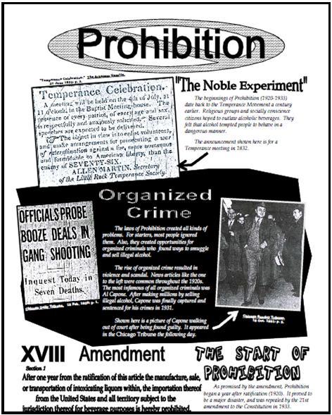 Homecourt Publishers : Free Activity Roaring u0026#39;20s - Prohibition